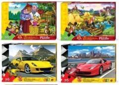Пазли Puzzle 35 ел. м'які в асорт. (16) Danko toys