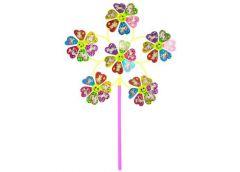 Вітрячок в кул 31см. квітка 9см. єдиноріг, на паличці 27см.  фольга 23*28*3см.  ...