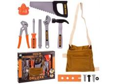 Набір інструментів, в кор. 13 пред. пояс, пилка, молоток, ключі, пасатіжи 36*6*2...