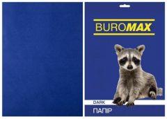 Папір офс А-4 50а/ 80г Dark синій 2721450-02 BM BUROMAX