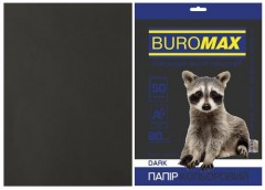 Папір офс А-4 50а/ 80г Dark чорний 2721450-01 BM BUROMAX