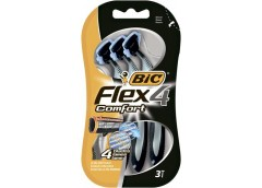 Станок  д/брит  BIC FLEX 4 Comfort  3шт 8880283 (20) &&