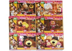 Пазли Puzzle 35 ел. м'які М.М. Danko toys (16)