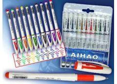Набір ручок гель 10 к 801A-10 (12/144)