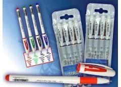 Набір ручок гель 4 кол AH801A-4 (30/360