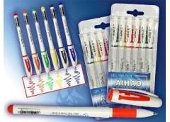 Набір ручок гель 6 к AH801A-6 (24/240)