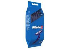 Стан. для брит. однор. Gillette 2 за 5шт в пакеті (24) &&