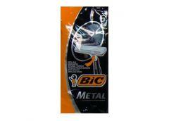 Станок  д/брит однор BIC metall 5 шт 05416 (30) &&