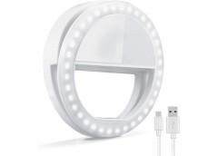 Прищепка LED для телефону Selfie Ring Light