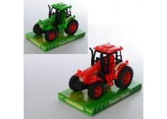 Трактор інерц в слюді, 15см. 2 кол. 18*12*11см   323-17 (120)