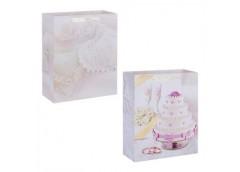 Пакет подар паперовий Wedding Cake  18*23см R 16102  (12/156)