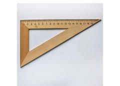 Трикутник дерев'яний 22см 60*90*30 0157 Козлов (50)