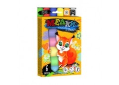Крейда асфальтна Jumbo, 6 кол.  MEL-01-04  Danko toys (20)
