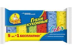 Губка кухонна Фрекен БОК Color 5+1 шт 30824 (90)