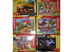 Пазли Puzzle 20 ел mini асорт Danko toys  (32/160)