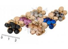 Краб квіточка з камушків кольоровий за 1шт 010947/C1444-62KPS-16 (12)