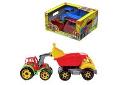 Ігровий набір трактор + вантажівка Будтехніка ТехноК  3459 (4)
