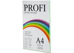 Папір офс  А-4 PROFI 100а/ 80г паст зелена