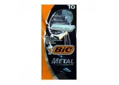 Станок  д/брит однор BIC metall 10 шт 36481 (20) &&