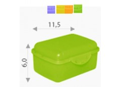 Бутербродниця 11х8,5х6см Алеана 168015