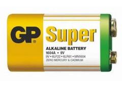 Крона сп. GP Super 6F22/6LR61 алкалайн 1604A-S1 (1/10)