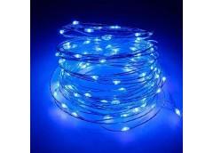 Герлянда Роса 10м синій колір, від сеті RV-105 С (300)