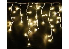 Герлянда зовнішня штора 120 лам LED прозрачна 5м золотий колір ZABI-14 (100)