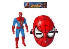 Набір супергероя, маска, фігурка-світ. бат(таб) в кул. 16*33*8см 230-MJ-1P (36)