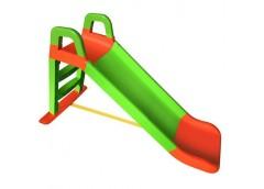 Гірка для катання дітей пласт. 140*40*80см зелено-червона в кор. 80*25*43см 0140/04 (1) DT