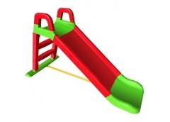 Гірка для катання дітей пласт. 140*40*80см червоно-зелена в кор. 80*25*43см 0140/01 (1) DT