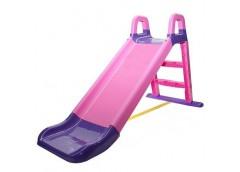 Гірка для катання дітей пласт. 140*40*80см рожево-фіолетова в кор. 80*25*43см 0140/05 (1) DT