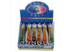 Кусачки металеві GB золото 217-12 12шт/упак (600)