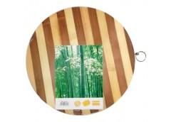 Доска кухонна бамбук 26*25 см 2525/6005-3 А-плюс (25)