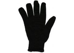 Рукавиці  Х/Б 1с чорні двійна  7116 / 78401-2 (5\150)