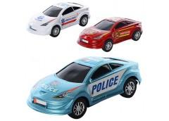 Машинка в кул інерц 3 вида (поліція,швидка доп. пожежна) 19*29-9см 3367-68-69 A ...
