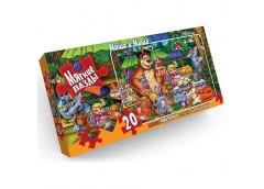 Пазли Puzzle 20 ел. М.М M-S20-01,02....16 (16) Danko toys
