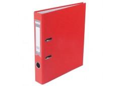 Папка-реєс LUX одност. BUROMAX  А-4 5см червона 3012-05с (10)