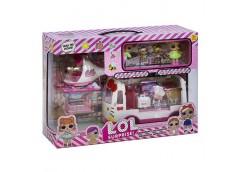 Лялька LOL в кор. 2шт. + 2 шт. мал. швидка допомога, вертоліт, аксес.  K 5621 (1...