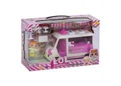 Лялька LOL в кор. 2шт. автомобіль фастфуд, аксес.  K 5622 (18/24)