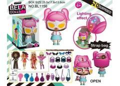 Лялька Bella Dolls в сумці 18см. одяг, прикраси 26*18*14см. BL1156 (14/28)