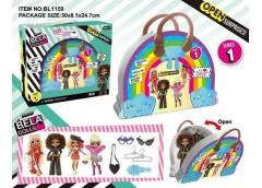 Лялька Bella Dolls в сумці 18см. одяг, прикраси, аксес. 30*8*25см. BL1159 (18/36...