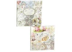 Альбом для побажань Весілля 268*268 мм АС02/1 (10) Мандарін