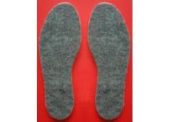 Встелька для взуття фєтрова 10шт в упак одного розміру41,42,43,44 розмір
