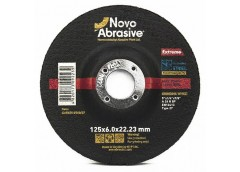 Круг шліфований NOVOABRASIVE Extreme 27 125х6.0 мм. NAECD 12560/27 (10)