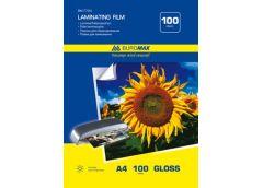 Плівка для ламінування  Buromax A4, 100мкр.  216х303мм  100л.  BM7724 (10)&&