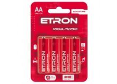 Бат. R6 бл. Etron Mega Power Alkaline (4/48/480)
