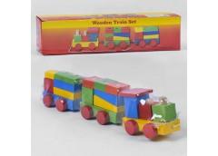 Гра дерев конструк. поїзд 34*8*9см C 39264 (80)
