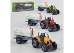 Трактор з причіпом в коробц.24*6*10см FC 17-43 (72)