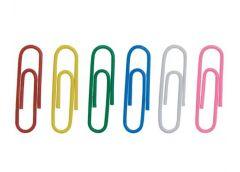 Скріпка BUROMAX круг кольор 28мм.100шт BM 5015  (1/10/500)