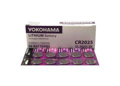 Бат. таб. Yokohama 3V CR2025 за 1шт (50)